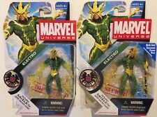 Marvel Universe Electro Series 1 Wave 4 #025 Translucent Hands & Matte VARIANTS