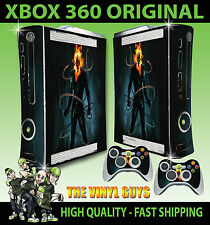 XBOX 360 vecchia forma Adesivo Ghost Rider Johnny Blaze CATENE Skin e 2 SKIN Pad