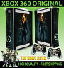 XBOX 360 OLD SHAPE STICKER GHOST RIDER JOHNNY BLAZE CHAINS SKIN & 2 PAD SKINS