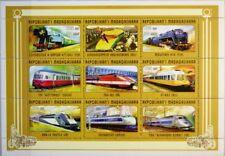 MADAGASCAR MALAGASY 1998 Klb 2054-80 A 1387-89 Trains Autos Cars Airplanes MNH