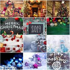 Christmas Photography Background Backdrop Xmas Photo Prop Decor Celebrate Q5A1fm