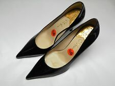 Women's COLE HAAN NikeAir Black Patent Leather Pumps Size 9.5 B