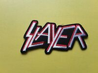 POP, ROCK, PUNK, METAL MUSIC SEW ON & IRON ON PATCH:- SLAYER