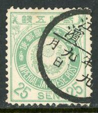 Japan 1888 🔥 25 Sen  Used 🔥 K557