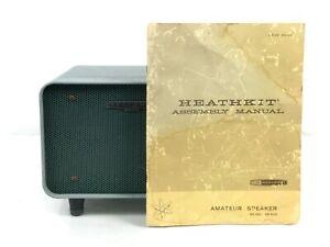 Heathkit SB-600 speaker & HP-23A plus power cable & Manual
