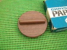 1969 1970 Woodgrain GAS CAP NOS MoPar Plymouth Dodge B-body Wagon