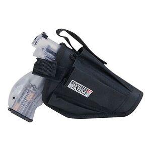 UNIVERSAL BLACK GUN HIP BELT HOLSTER for hand firearm softair soft air