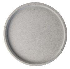 Handmade Natural Colour Round Concrete Tray D30CM
