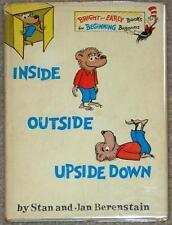 INSIDE OUTSIDE UPSIDE DOWN ~ STAN & JAN BERENSTAIN ~ VINTAGE 1968 ED ~ HC