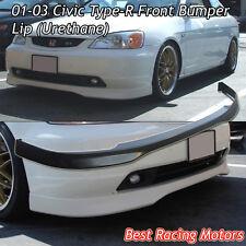 TR Style Front Bumper Lip (Urethane) Fits 01-03 Honda Civic 2/4dr