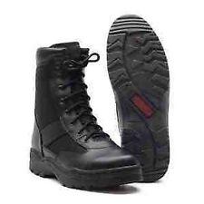 Militär Security Army Boots Stiefel schwarz Springerstiefel Kampfstiefel Gr. 45