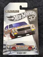 Hot Wheels 2018 50th Anniversary HW ZAMAC '70 Buick GSX