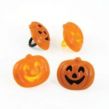Stacked Pumpkin Cupcake Rings - 24 count