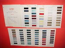 1965 CHEVROLET CORVETTE BUICK PONTIAC OLDSMOBILE EXTERIOR + INTERIOR PAINT CHIPS