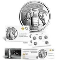 2017 Canada 125th Anniversary Stanley Cup 25 Cents Coins 10-Coin Pack