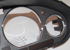 BMW E30 calibre dial del reloj Dash cromo velocímetro anillos 1982-94