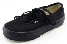 VANS Toddler Sz 12Medium Black Casual Shoes Fabric Unisex