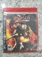 Sony PlayStation 3 PS3 | Ninja Gaiden Sigma | Free Fast Shipping