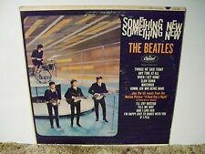 THE BEATLES, SOMETHING NEW, RARE VINTAGE  1964 , MONO  HiFI  LP
