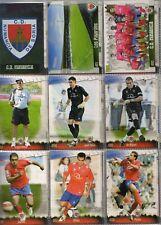 27 fichas del Numancia Mundicromo Fichas de la liga 2008-2009