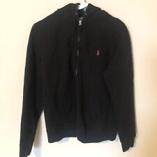 Polo Ralph Lauren Hoodie Girls Size XL Black