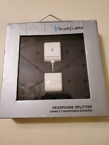 Blueflame Headphone Splitter - Connects 2 headphones/speakers NEW