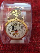 MINT Vintage Unisex Lorus Big Face Quartz Mickey Mouse Watch in Case. BEAUTIFUL!
