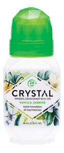 Crystal Mineral Deodorant Roll-On - Vanilla Jasmine 66ml