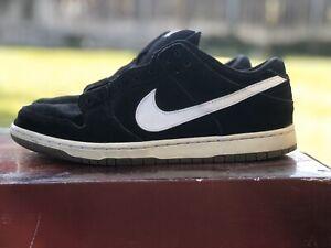 VERY RARE Nike SB Dunk Low Black White (2011)  Size 8.5