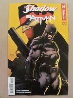 The Shadow Batman #1 Dynamite DC Comics 2017 Series 9.6 Near Mint+