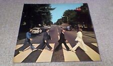 THE BEATLES ABBEY ROAD Re Stereo EMI S.A. GREECE LP 1969 14C 062-04243