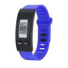 Womens Mens Activity Tracker Watch Bracelet Pedometer Digital LCD Sports Watch