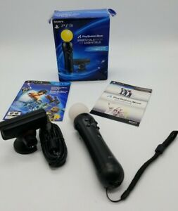 Sony Playstation 3 Move Essentials Pack PS3 Motion Controller Eye Camera in Box