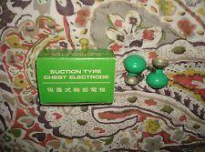 Vintage-Suction Type Electrodes,4pc/Original Box-1970's