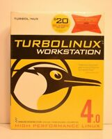 New Sealed Turbolinux Workstation 4.0 Software CD High Performance