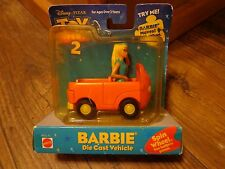2000 MATTEL--DISNEY'S TOY STORY 2--BARBIE DIE CAST VEHICLE (LOOK)