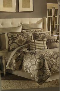 CROSCILL Nerissa 4pc QUEEN Comforter Set $460