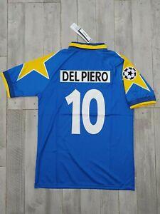 MAGLIA SHIRT JERSEY JUVENTUS 1995 1996 DEL PIERO CHAMPIONS WINNER RETRO