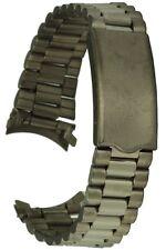 Titan Uhrarmband Rundanschluss 19 mm Faltschliesse Ersatzuhrband