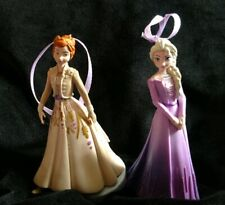 NEW Disney Frozen 2 Elsa And Anna Christmas Ornament Set Formal Gown