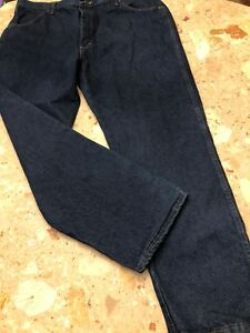 NWT Rustler Regular Fit Boot Blue Heavyweight Jeans Size 42 X 30 - M7900