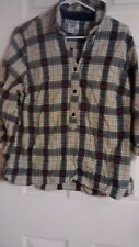 CJ Banks - Button Up Checkered Long Sleeve Blouse - {Pre-Owned}.