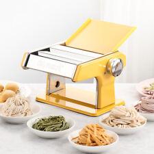 Stainless Fresh Dumpling Dough Skin Noodles Pasta Press Maker Roller Machine