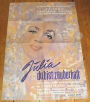 A1. Filmplakat, JULIA DU BIST ZAUBERHAFT,Jean Sorel, Lilli Palmer.