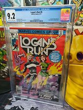 Logan's Run #6 Marvel Comics 1st Solo Thanos Story Key Issue CGC 9.2