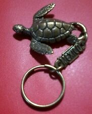 Sea Turtle Cancun Mexico KEY CHAIN novelty souvenir tortoise snorkel swim ocean