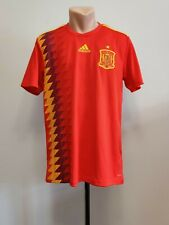 Football shirt soccer FC Spain Home 2017/2018/2019 Adidas Jersey Espana Red M