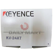 New Keyence KV-24AT Base Unit, AC Type, 16 Input 8 Trans Sink Output, in Box