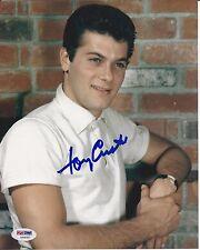 TONY CURTIS Signed 8 x10 PHOTO with PSA/DNA COA
