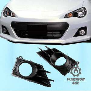 2Pcs New For 13-16 Subaru BRZ R&L Sides Fog Light Driving Lamp Bezel Cover Grill